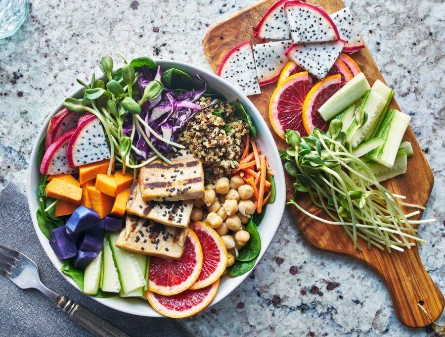 ۶ باور غلط درباره گیاه خواری
