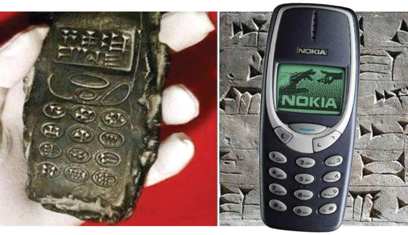 تلفن همراه به جا مانده از عصر حجر + عکس