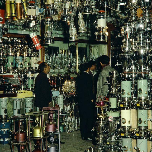 تصویری از بازار تهران سال 47 + عکس