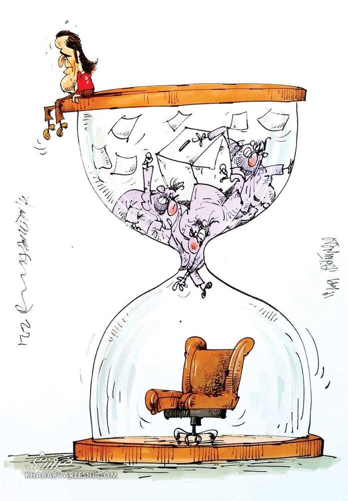 آخرین وضعیت علی کریمی در انتخابات + عکس