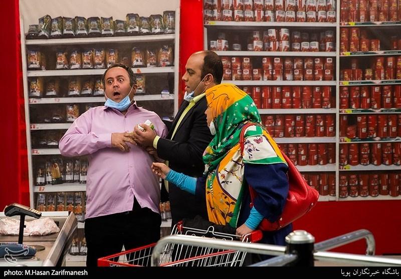 پشت صحنه سریال آیتمی نوروز شبکه نسیم + عکس