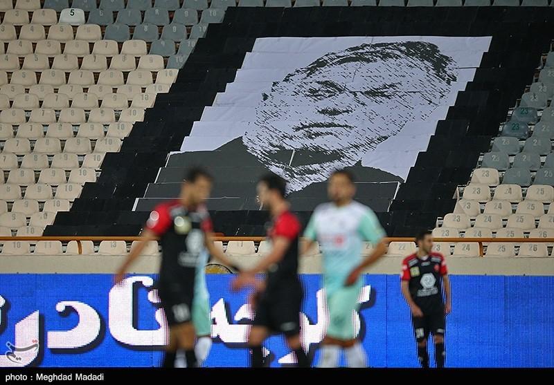 تصویری از سرمربی فقید پرسپولیس در ورزشگاه آزادی + عکس