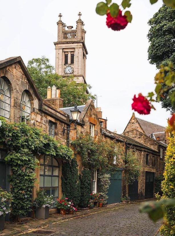 معماری ساختمان های زیبا در انگلیس + عکس