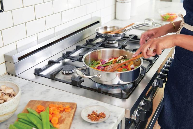 پختن غذای سالم با