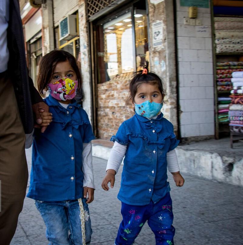 شوش در وضعیت هشدار کرونا+ عکس