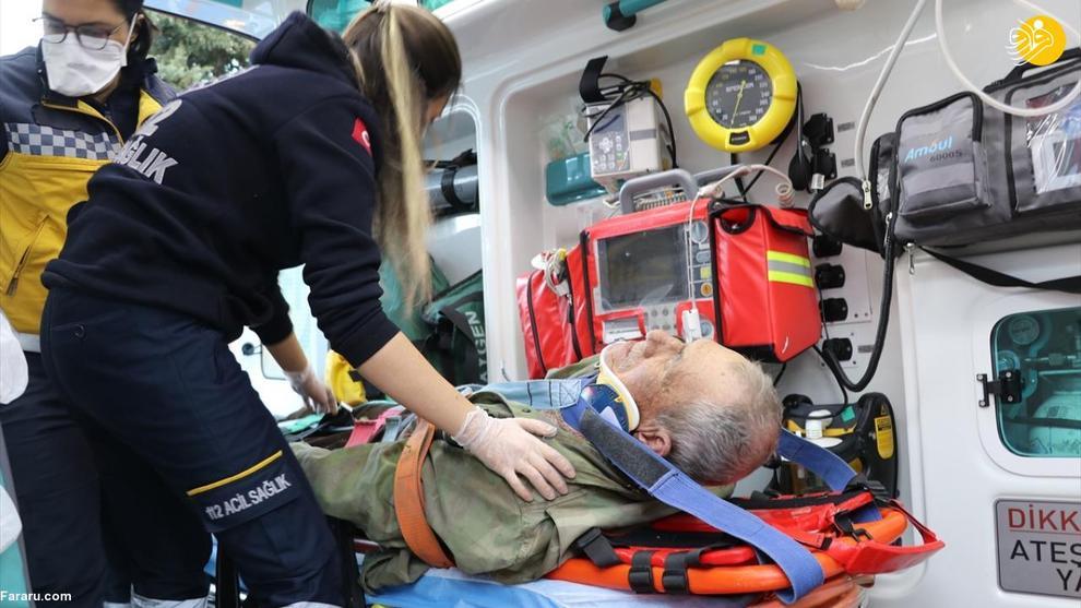 واژگونی تراکتور روی پیرمرد ۸۱ ساله! + عکس