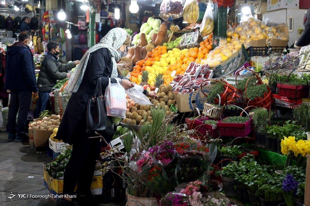قابهایی دیدنی از تهران در آستانه نوروز ۱۴۰۰+ عکس