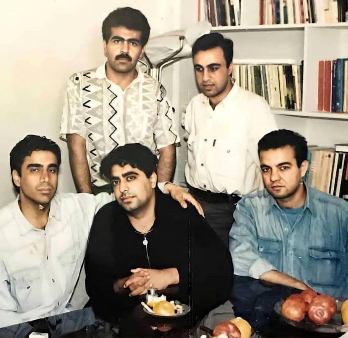 عکسی خاص از بازیگران معروف طنز ایرانی در سال ۷۳