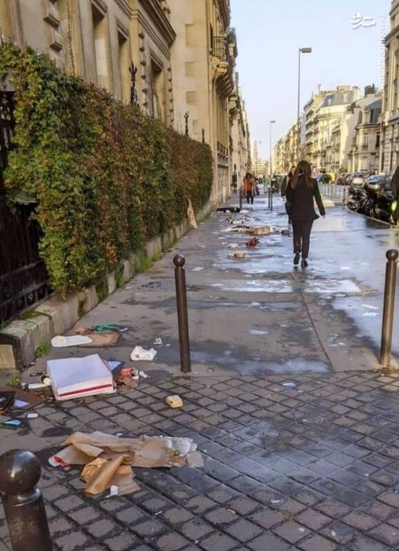 نمایی از پاریس بدون فتوشاپ! + عکس