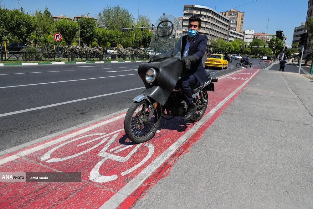 به نام دوچرخه به کام موتور! + عکس