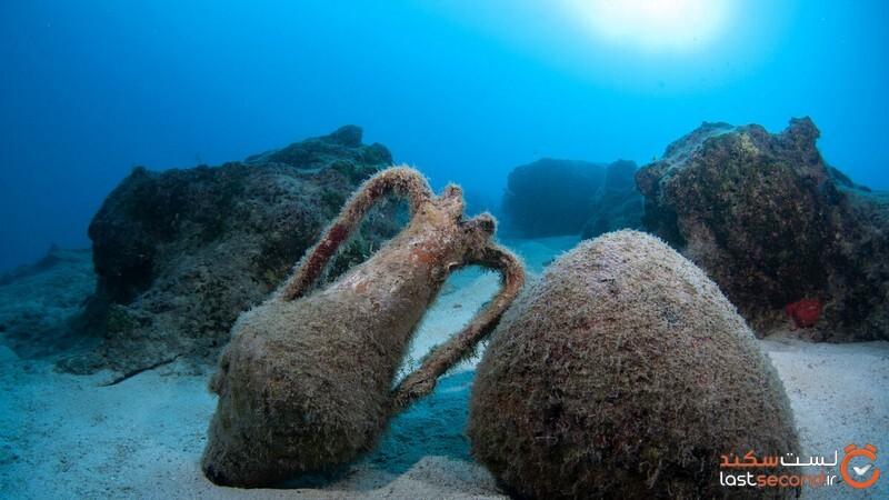 کشف شهری لوکس و باستانی در اعماق دریاها + عکس