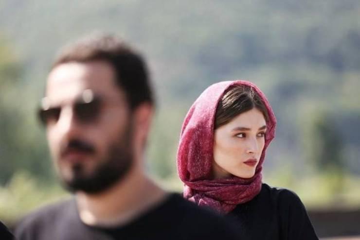 شباهت لباس فرشته حسینی و نوید محمدزاده! + عکس