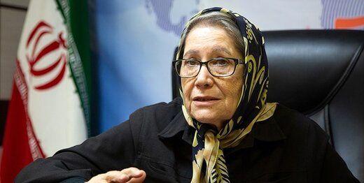مینو محرز: وضعیت کروناییِ تهران، سیاه است