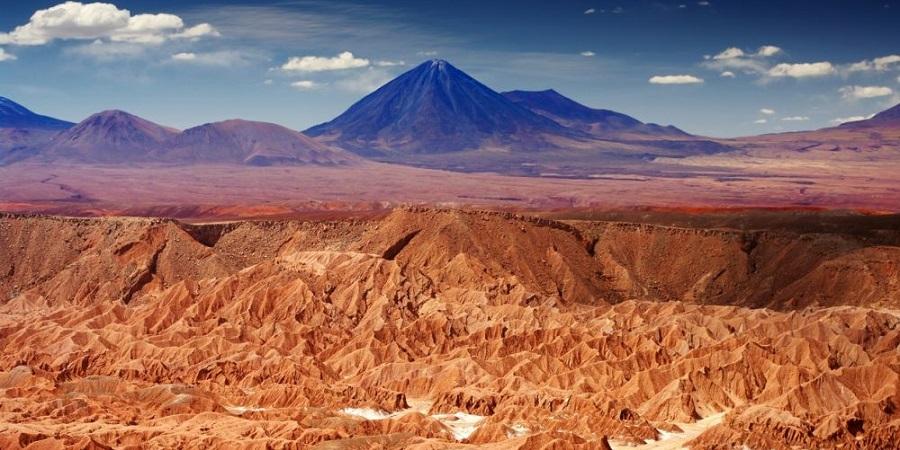 خشک ترین نقطه دنیا + عکس