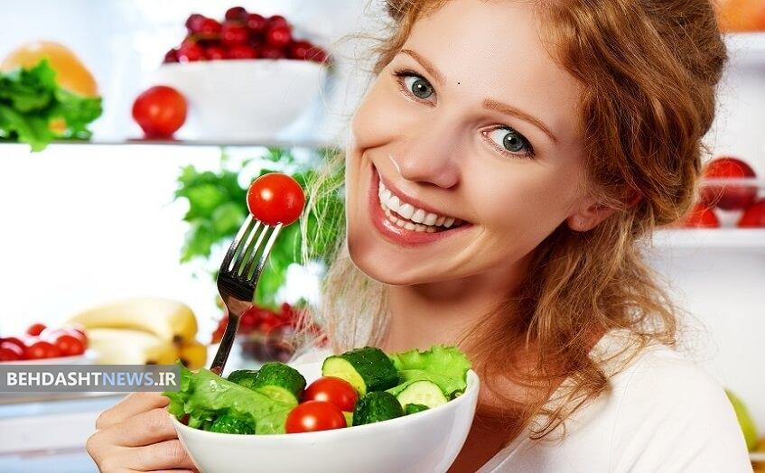 راز جوانی در تغذیه سالم