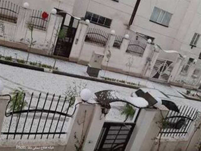 سفیدپوش شدن فاز ٨ پردیس تهران + عکس