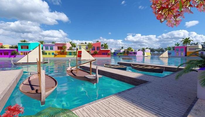 نخستین شهر شناور جهان در مالدیو  + عکس