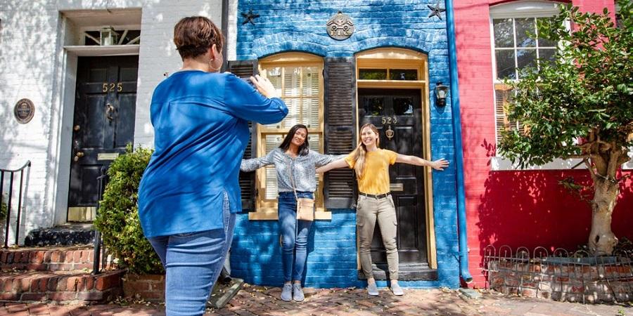 باریک ترین خانه آمریکا که تنها ۲ متر عرض دارد + عکس