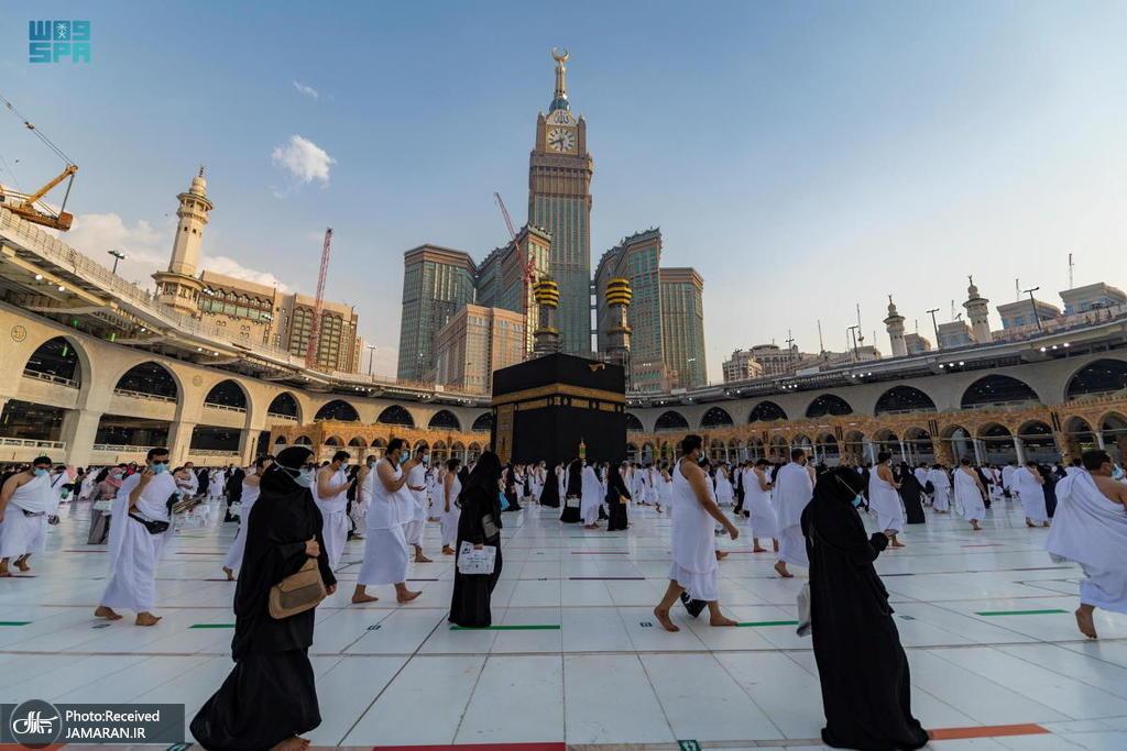 انجام عمره در روزهای آخر ماه رمضان + عکس