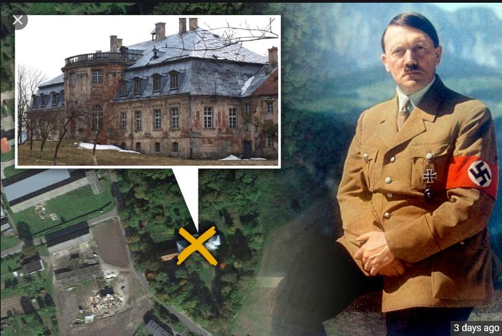 گنج پنهان شده هیتلر در یک کاخ پیدا شد + عکس