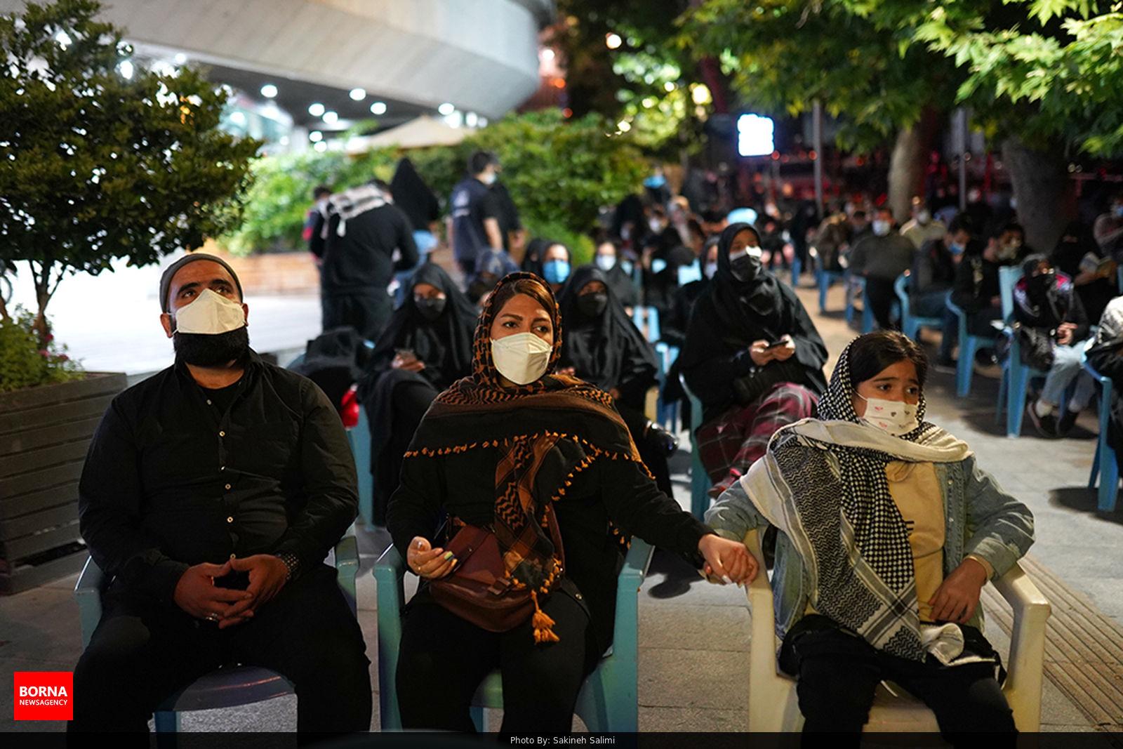 حال و هوای تجریش در شب قدر + عکس