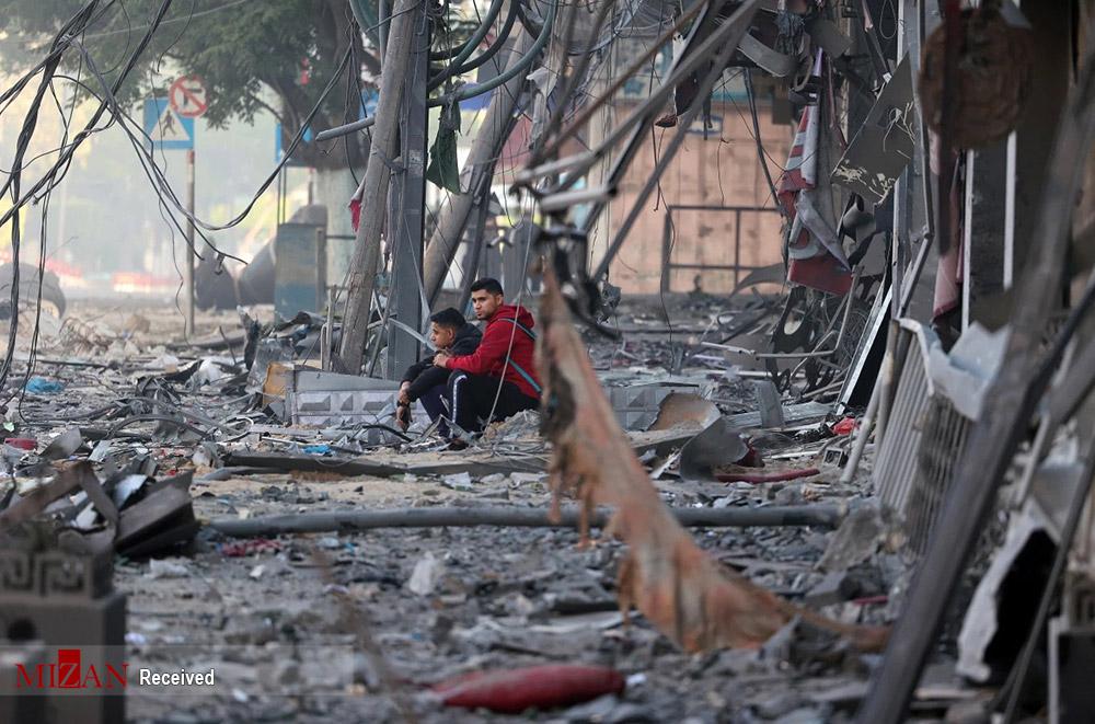 ویرانیهای ناشی از حملات رژیم صهیونیستی به غزه + عکس