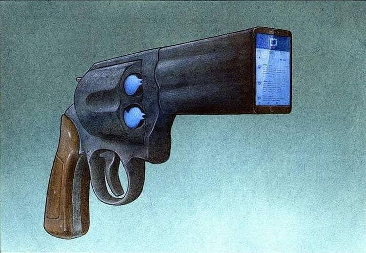 این روزها مواظب این اسلحه خطرناک باشید + عکس