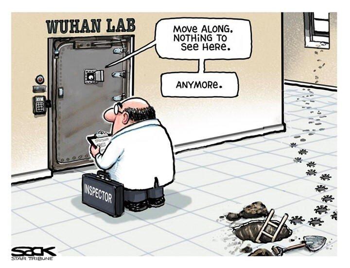تحقیقات از آزمایشگاه ووهان آغاز شد! + عکس