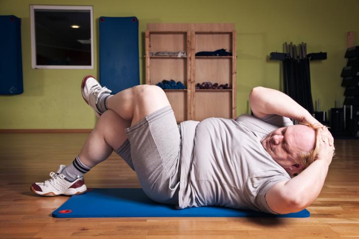 چاق ها  در این مدت از شبانه روز باید ورزش کنند