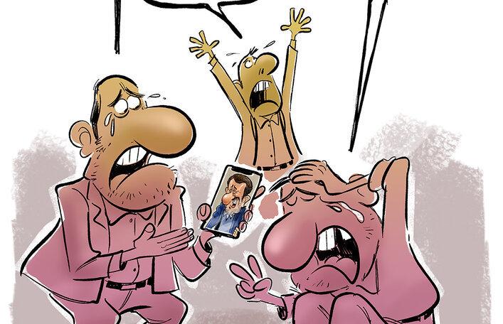 واکنش مردم به جدیدترین تهدید احمدینژاد! + عکس