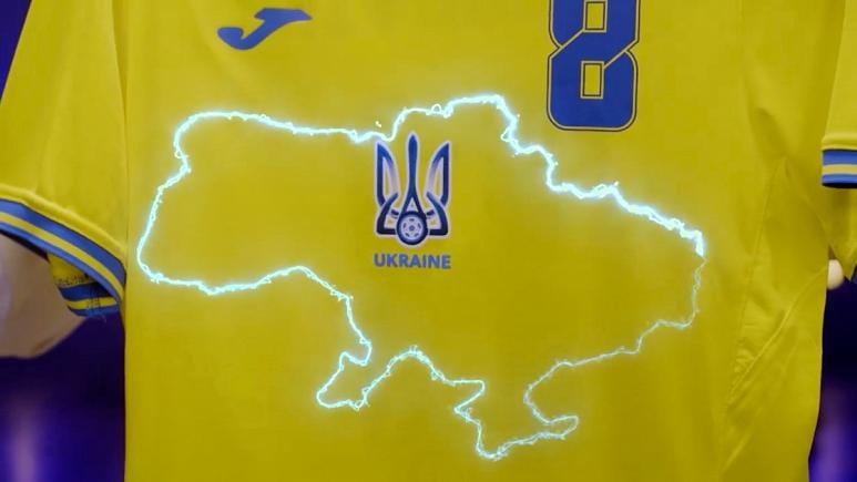 اعتراض روسیه به لباس تیم ملی اوکراین + عکس