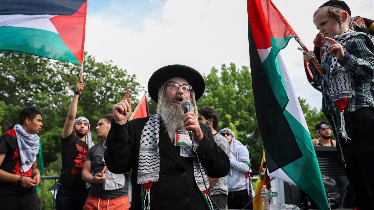 تجمع ضد صهیونیستی در نیویورک + عکس