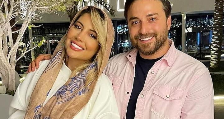 بابک جهانبخش و همسرش در مرکز خرید + عکس