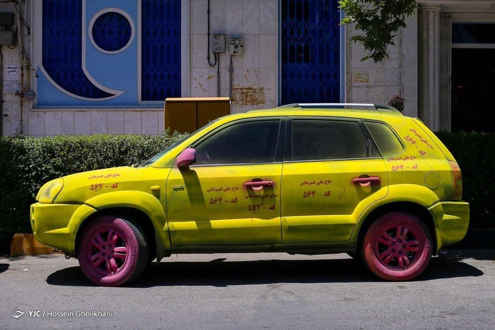 عجیبترین تبلیغ خیابانی انتخابات ۱۴۰۰ + عکس