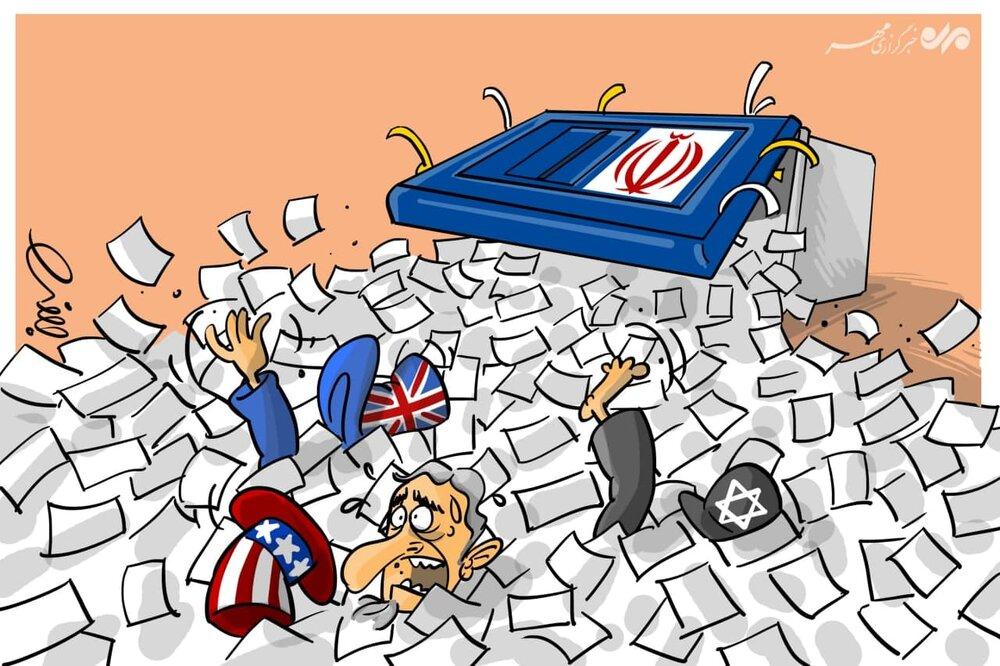 قدرت انتخابات + عکس