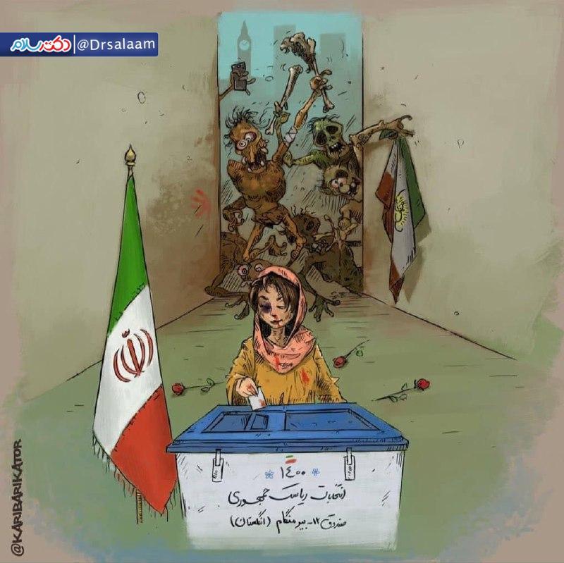حال رای دهندگان ایرانی در بیرمنگام انگلیس + عکس