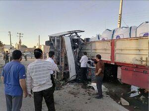 تصاویری از سرباز معلمهای حادثه واژگونی اتوبوس+عکس