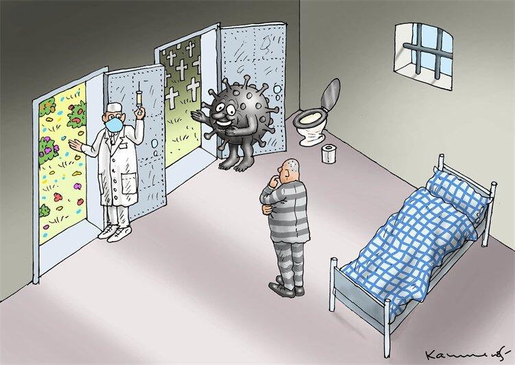 ۲ راه برای رهایی از قرنطینه وجود داره! + عکس