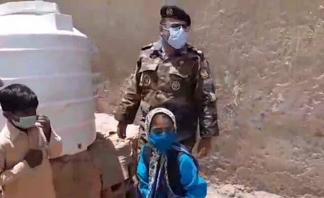 پاسخ ارتش به درخواست دختر سیستان و بلوچستانی + عکس