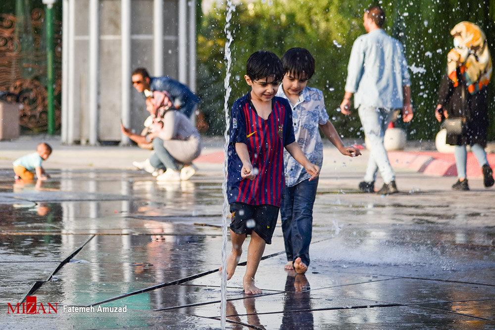 تیر ماه داغ تهران+ عکس
