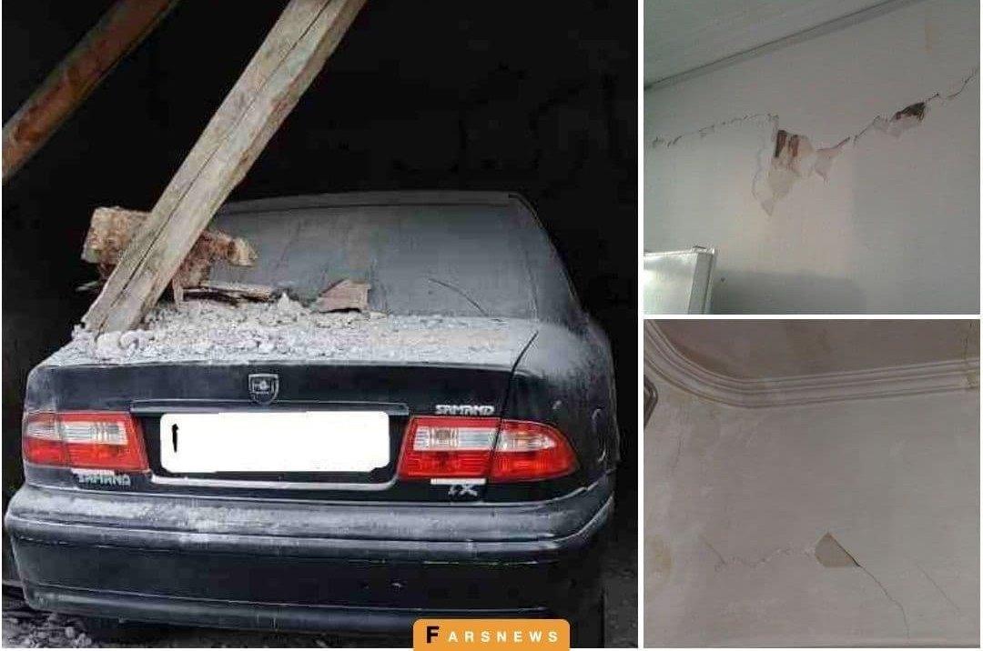 اولین تصاویر از خسارات زلزلە آذربایجان غربی + عکس