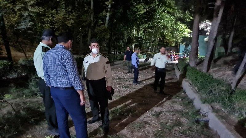 پلیس در پارک ملت تهران پس از شنیده شدن صدای انفجار + عکس