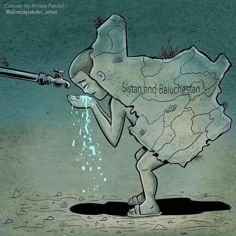 آخرین وضعیت سیستان و بلوچستان را ببینید + عکس