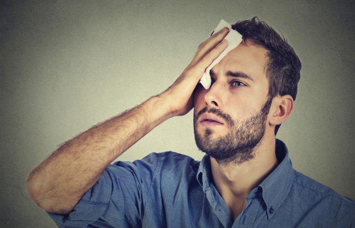 بیماری هایی که نشانه آن تعریق بیش از حد شبانه است