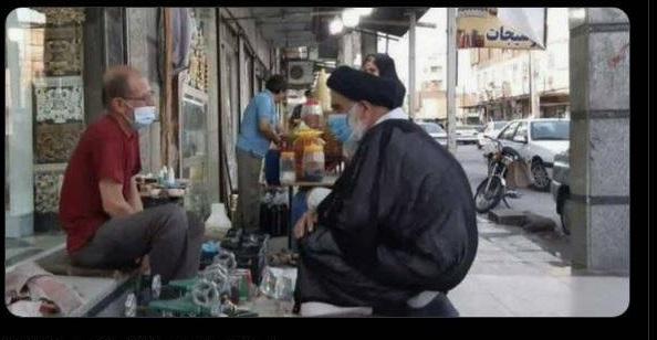 گفت و گوی امام جمعه اهواز با مردم + عکس