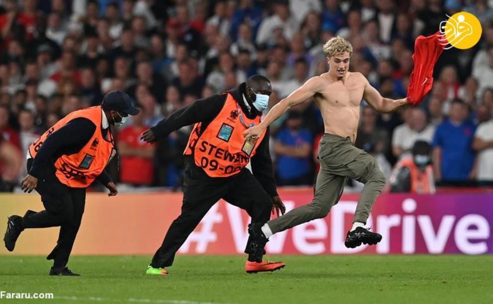 ورود جیمی جامپ در جشن قهرمانی ایتالیا + عکس