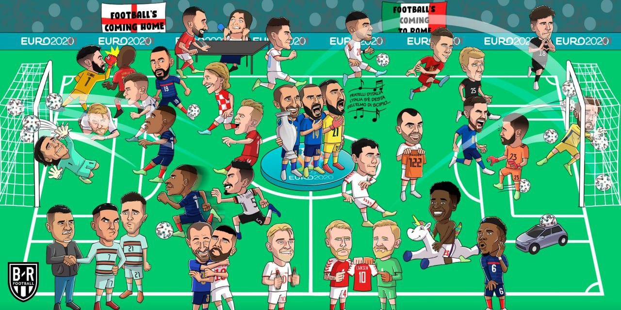 اتفاقات مهم یورو 2020 با حضور علی دایی! + عکس
