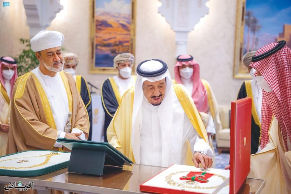 سفر سلطان عمان به عربستان + عکس