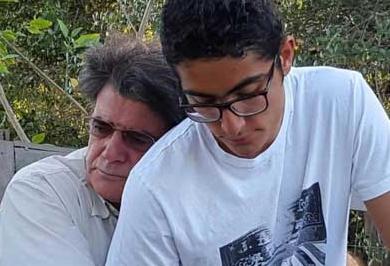 دلنوشته فرزند استاد شجریان به یاد پدر + عکس