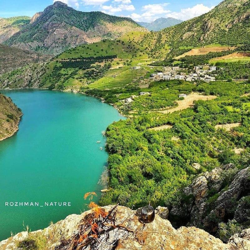 روستای فوق العاده زیبای هیروه + عکس